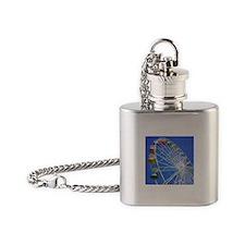 Knoebels Big Wheel Flask Necklace