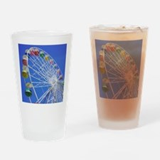 Knoebels Big Wheel Drinking Glass