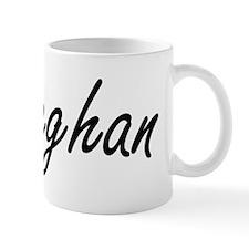 Meghan artistic Name Design Mug