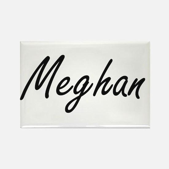Meghan artistic Name Design Magnets