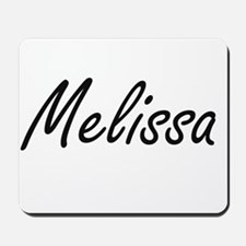 Melissa artistic Name Design Mousepad