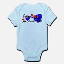 Loves an Aussie Girl Infant Bodysuit