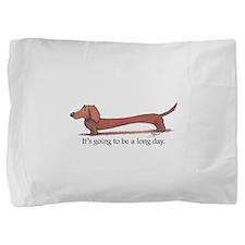 Cute Dachshunds Pillow Sham