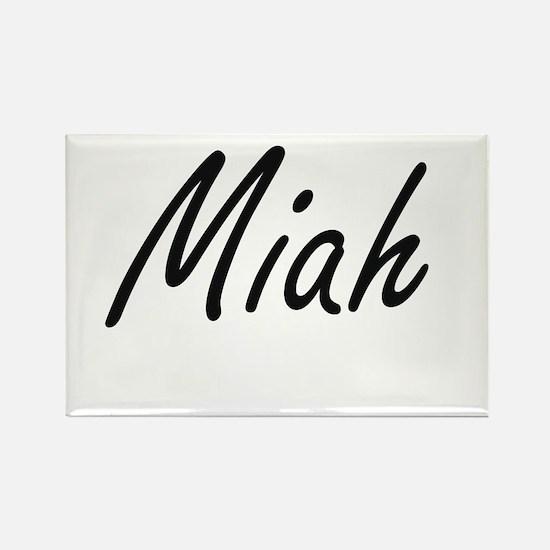 Miah artistic Name Design Magnets