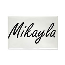 Mikayla artistic Name Design Magnets