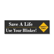 Save A Life - Car Magnet 10 X 3