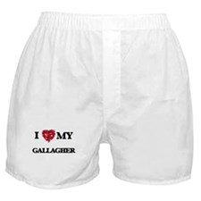 I Love MY Gallagher Boxer Shorts