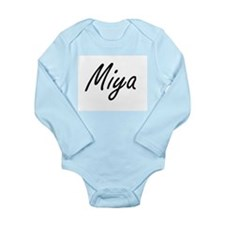 Miya artistic Name Design Body Suit