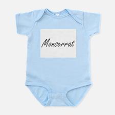 Monserrat artistic Name Design Body Suit