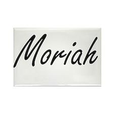 Moriah artistic Name Design Magnets