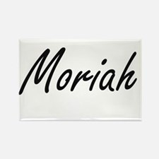 Moriah artistic Name Design Magnets