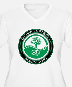 Going Green Maryland (Tree) T-Shirt