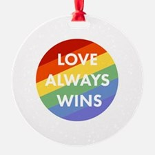 Unique Equality Ornament