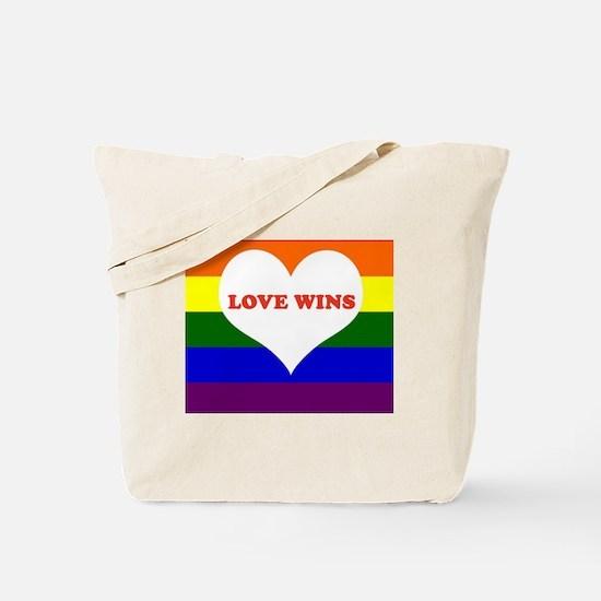 Unique Love wins Tote Bag
