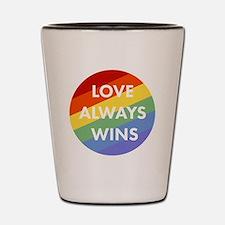 Unique Equality Shot Glass