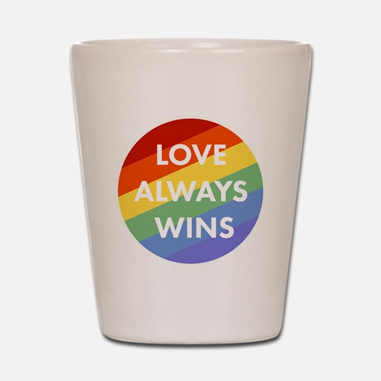 Cute Lgbt Shot Glass