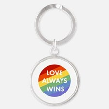 Cute Equality Round Keychain