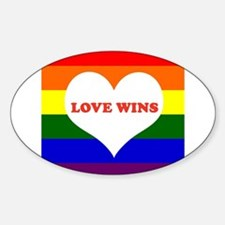 Love Wins Decal