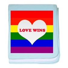 Love Wins baby blanket