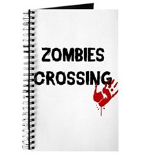 Zombies Crossing Journal