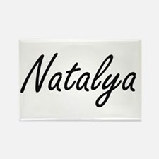 Natalya artistic Name Design Magnets