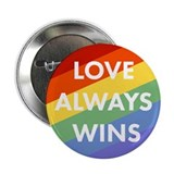 Love wins Buttons