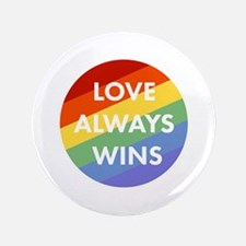 "Love Wins 3.5"" Button (100 pack)"