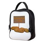 Peanut Allergy Neoprene Lunch Bag