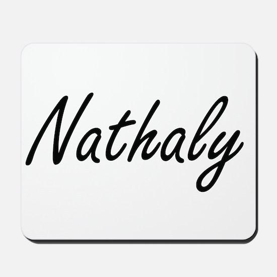 Nathaly artistic Name Design Mousepad