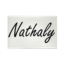 Nathaly artistic Name Design Magnets
