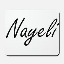Nayeli artistic Name Design Mousepad