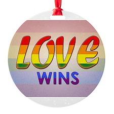 Love Wins Ornament