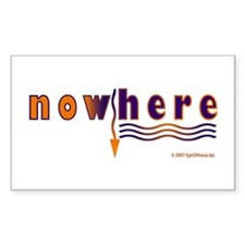NowHere Rectangle Decal