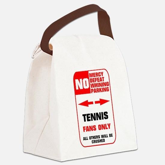 no parking tennis Canvas Lunch Bag