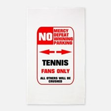 no parking tennis Area Rug
