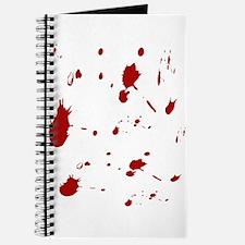 Blood Splatter Journal