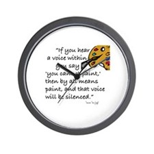 VAN GOGH - IF YOUR HEAR A VOICE... Wall Clock