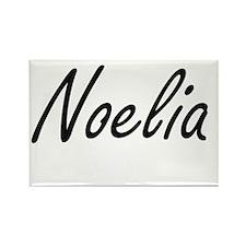 Noelia artistic Name Design Magnets