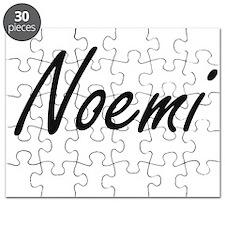 Noemi artistic Name Design Puzzle