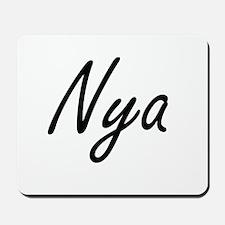 Nya artistic Name Design Mousepad