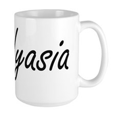 Nyasia artistic Name Design Mugs