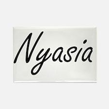 Nyasia artistic Name Design Magnets