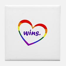 Cute Win Tile Coaster