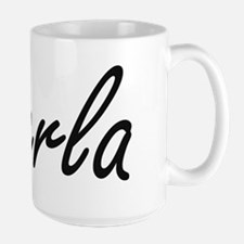 Perla artistic Name Design Mugs