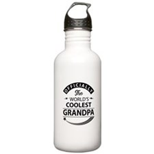 Worlds Coolest Grandpa Sports Water Bottle
