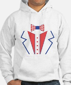 4 th of july tuxedo Jumper Hoody