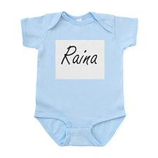 Raina artistic Name Design Body Suit