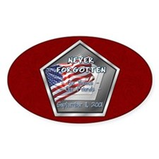 Heroes & Friends Oval Decal