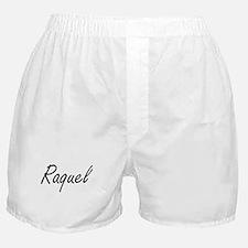 Raquel artistic Name Design Boxer Shorts