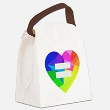 Love Wins Canvas Lunch Bag